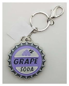 Disney Parks - Grape Soda llavero con espejo: Amazon.es ...