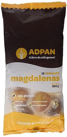 Adpan, Surtido de dulce (Magdalenas) - 12 unidades - sin gluten