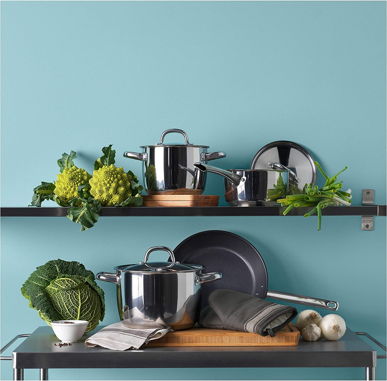 IKEA OUMBÄRLIG Cookware set review - Best cookware for gas stove
