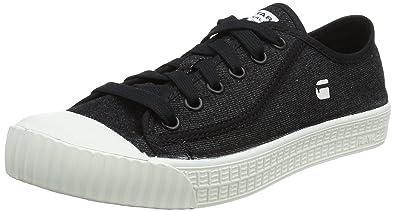 G-STAR RAW Rovulc Low, Baskets Homme, Noir (Black 990), 40 EU