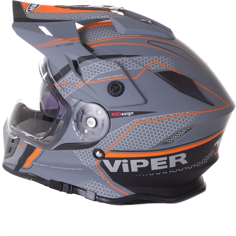 Casco da corsa fuoristrada Viper RX-V288 Ventura Motocross ATV Quad Trail motocicletta MTB MX enduro Track