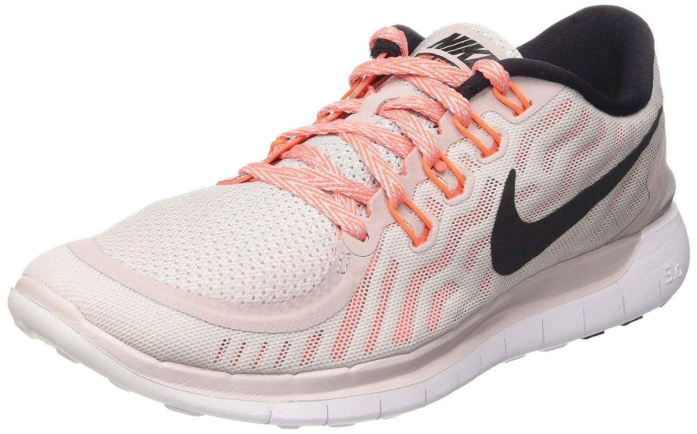 Nike Women's Free Running Shoe B010RS9ZQE 7 B(M) US|Violet Ash/White/Orange/Black