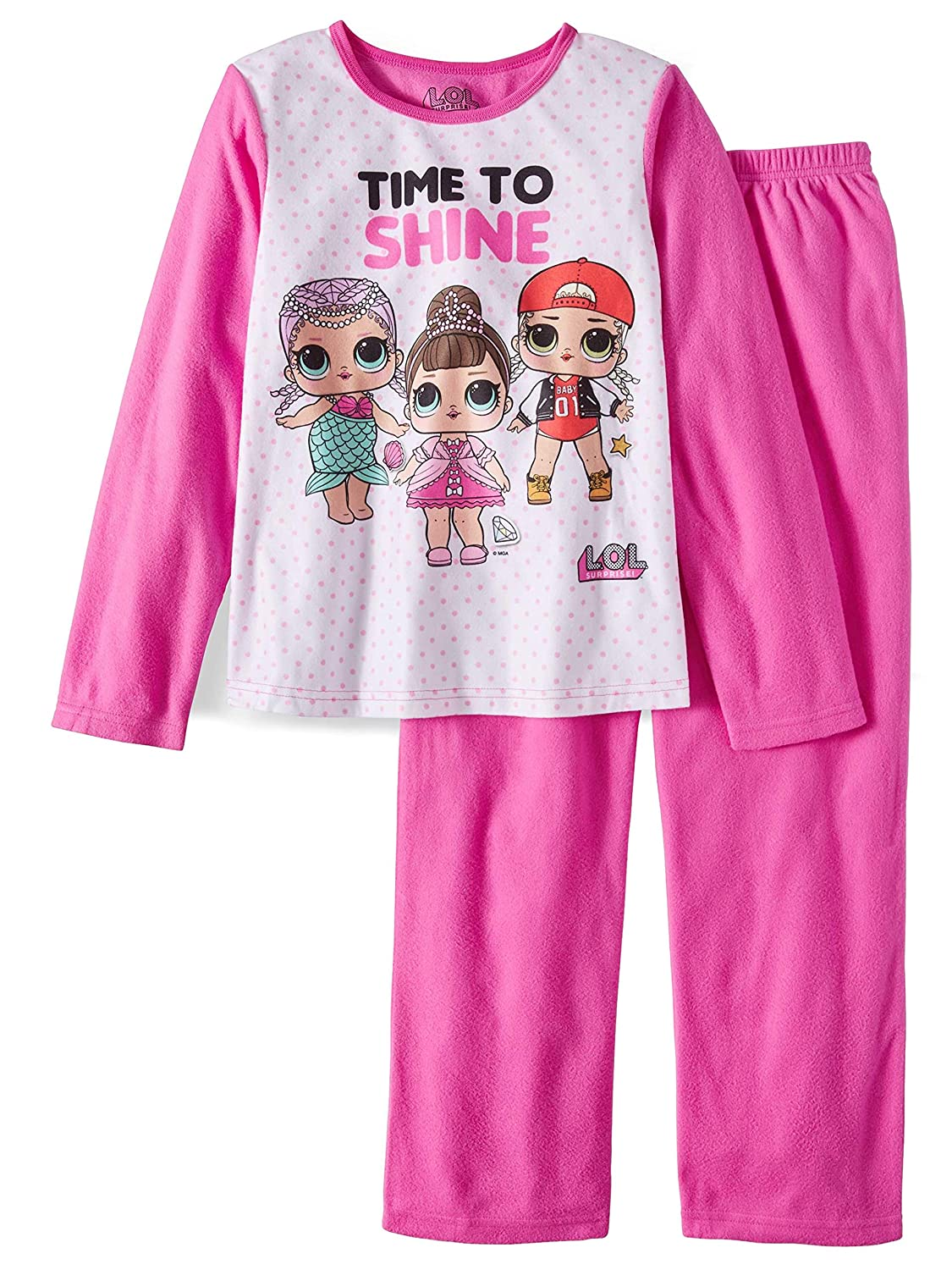 L.O.L SURPRISE 2 Piece Girls Sleepwear Pajama Set