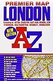 London Premier Map (A-Z Premier Street Maps)