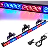 Led Warning Lights 36 Inch Police Emergency Strobe Light Bar 13 Flash Patterns 32 Led Traffic Advisor Vehicle Truck Cop…