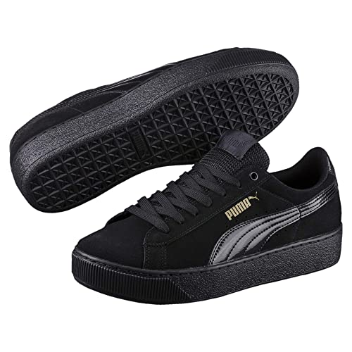 Puma Schwarz Herren Vikky Softfoam Black White « Return Games