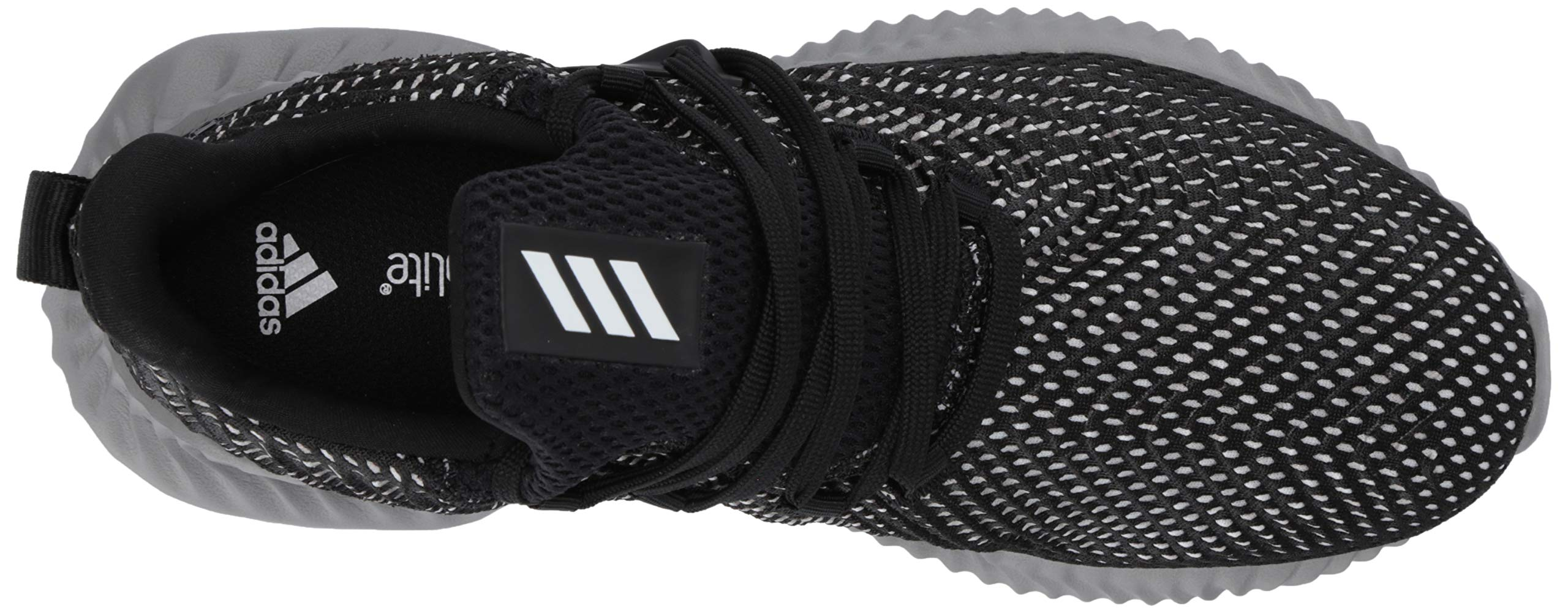 Adidas Kids Alphabounce Instinct, Black/White/Grey, 1 M US Little Kid by adidas (Image #8)