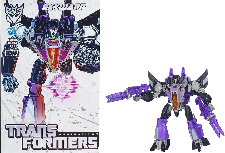 Transformers SKYWARP Action Figure Combiner Wars IDW Leader Classe L gift
