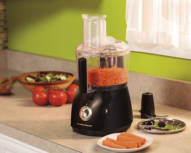 Amazon.com: Hamilton Beach 10 Cup Food Processor, ChefPrep With 525 Watts  (70670): Kitchen U0026 Dining
