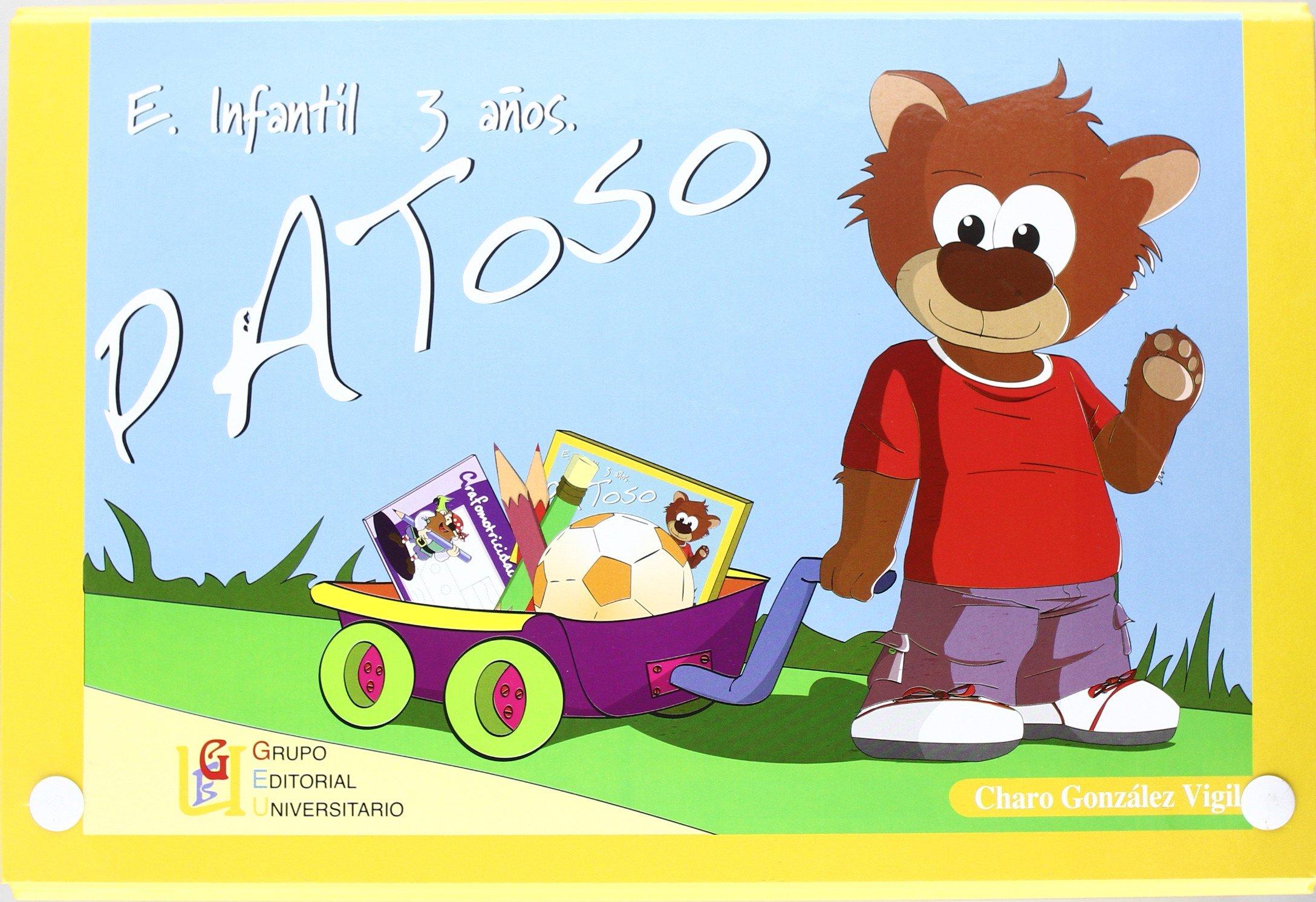 PATOSO E INFANTIL 3 AÑOS (ESTUCHE): geu: 9788484918288 ...
