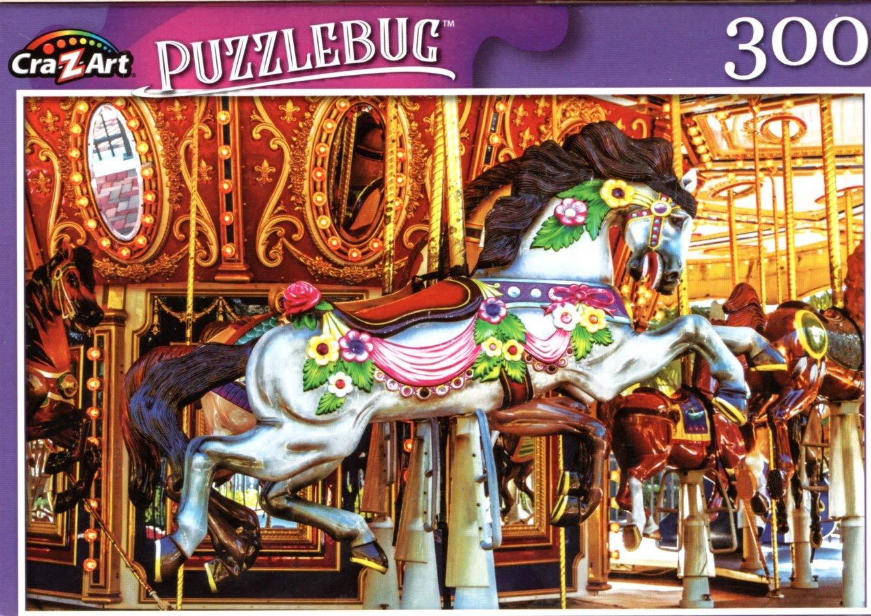 LPF Antique Carousel Merry Go Round Horse 300 Pieces Jigsaw Puzzle