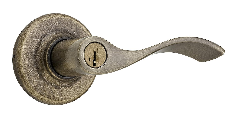 Interior Door Handle Satin Nickel Weiser Belmont Lever for Hall//Closet 9GLC1010-017