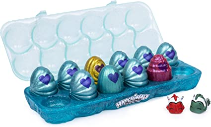 Hatchimals Colleggtibles Mermal Magic 12 Pack Egg Carton With Season 5 For Kids Aged 5 Up Styles May Vary