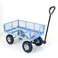 TEKRITE Heavy Duty 400lbs Capacity Garden Utility Cart