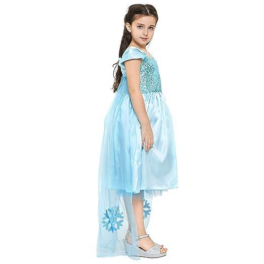 Katara 1842 Vestido de Cenicienta Disfraz con Mariposas y Tiara 8-10 Años, Azul: Amazon.es: Juguetes y juegos