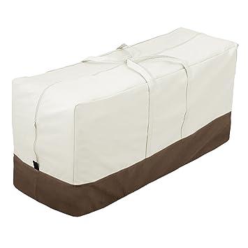 Sedie E Panche Da Giardino.Amazonbasics Sacca Di Protezione Per Cuscini Per Sedie Panche Da
