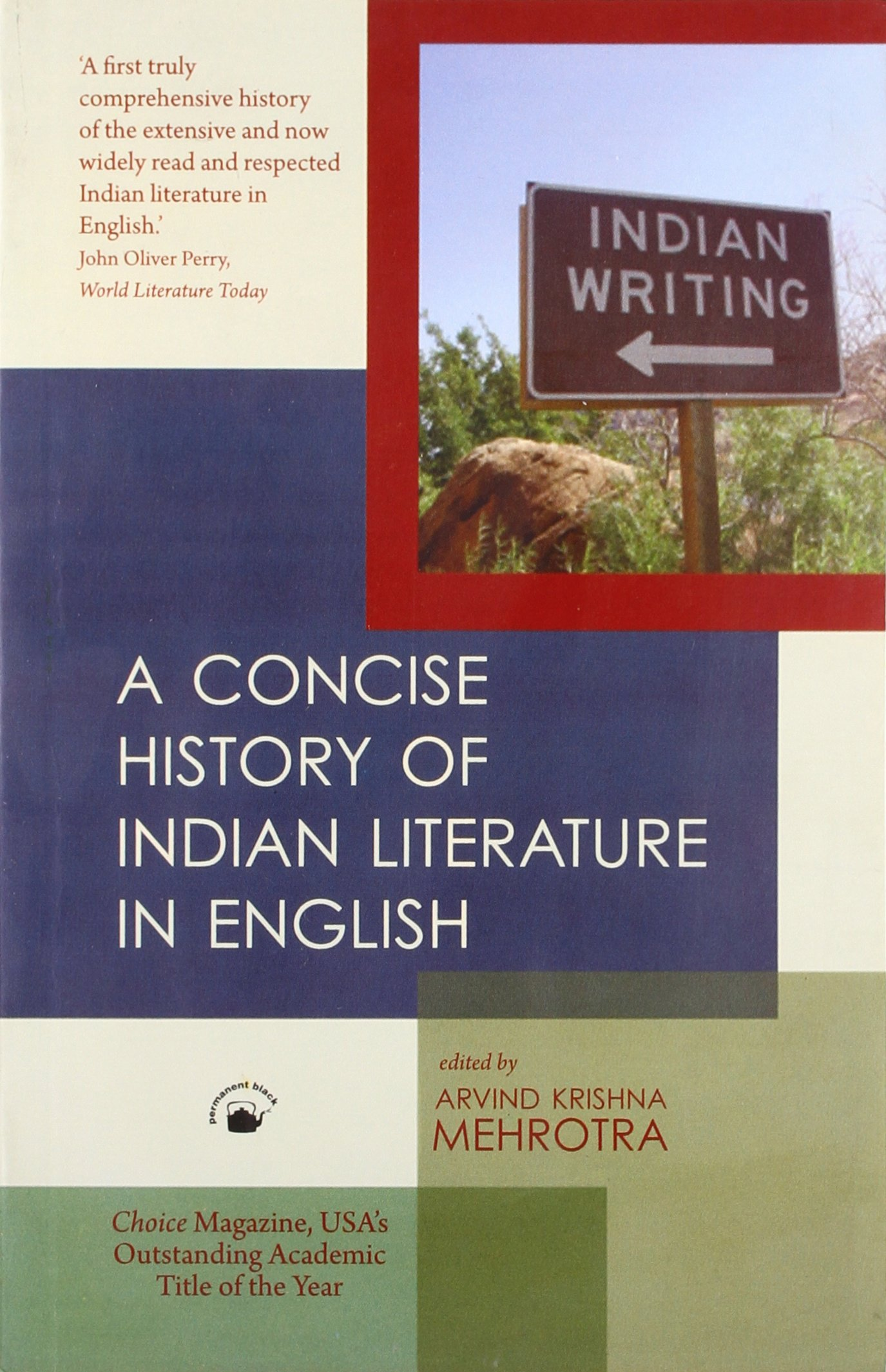 Concise History of Indian Literature in English