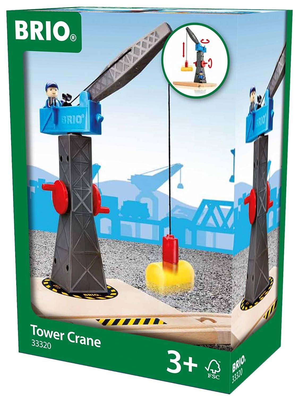 Brio - Torre-grúa (33320) Grúa torre Trenes de Juguete