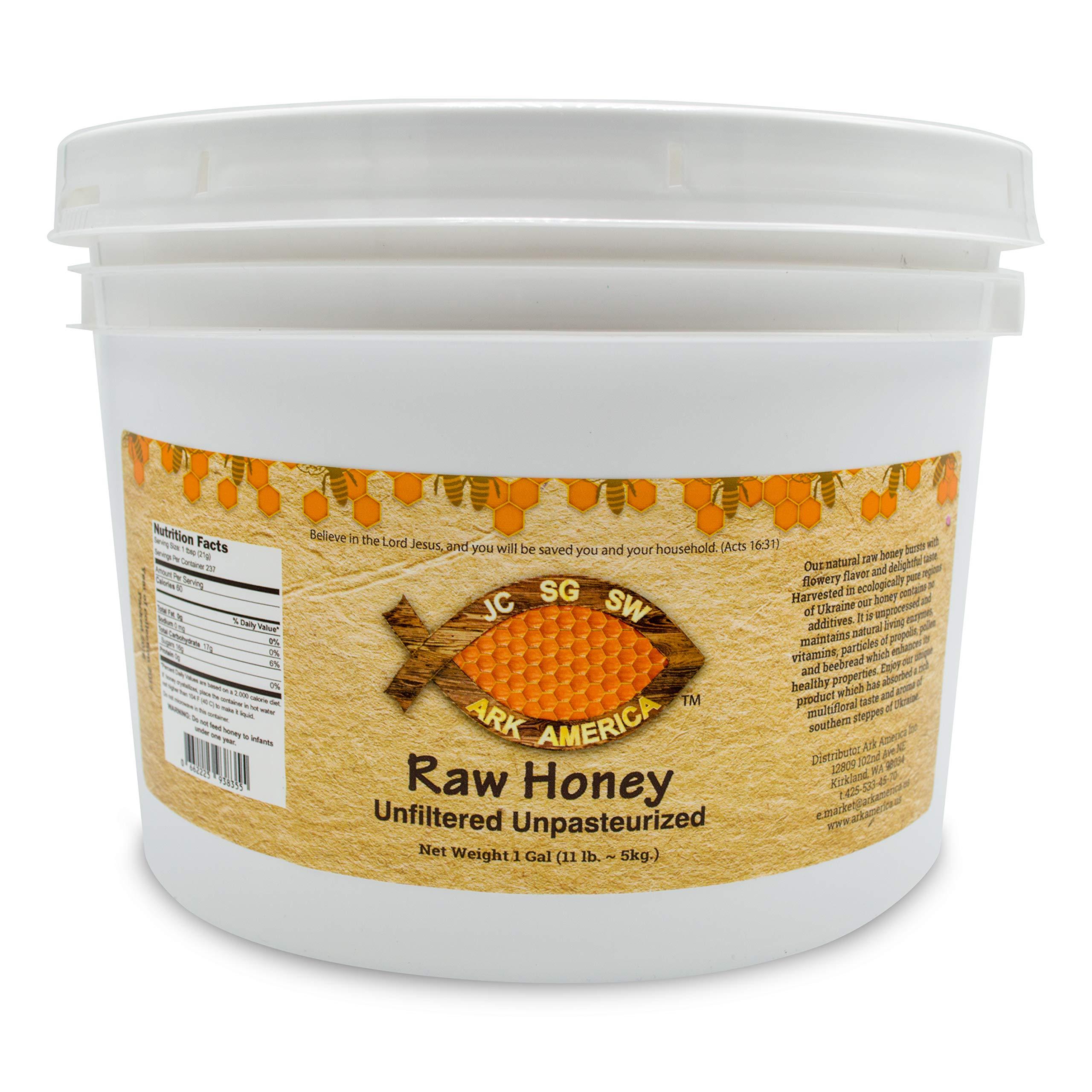 Ark America Raw Honey, Unfiltered, Unpasteurized (1 gallon)