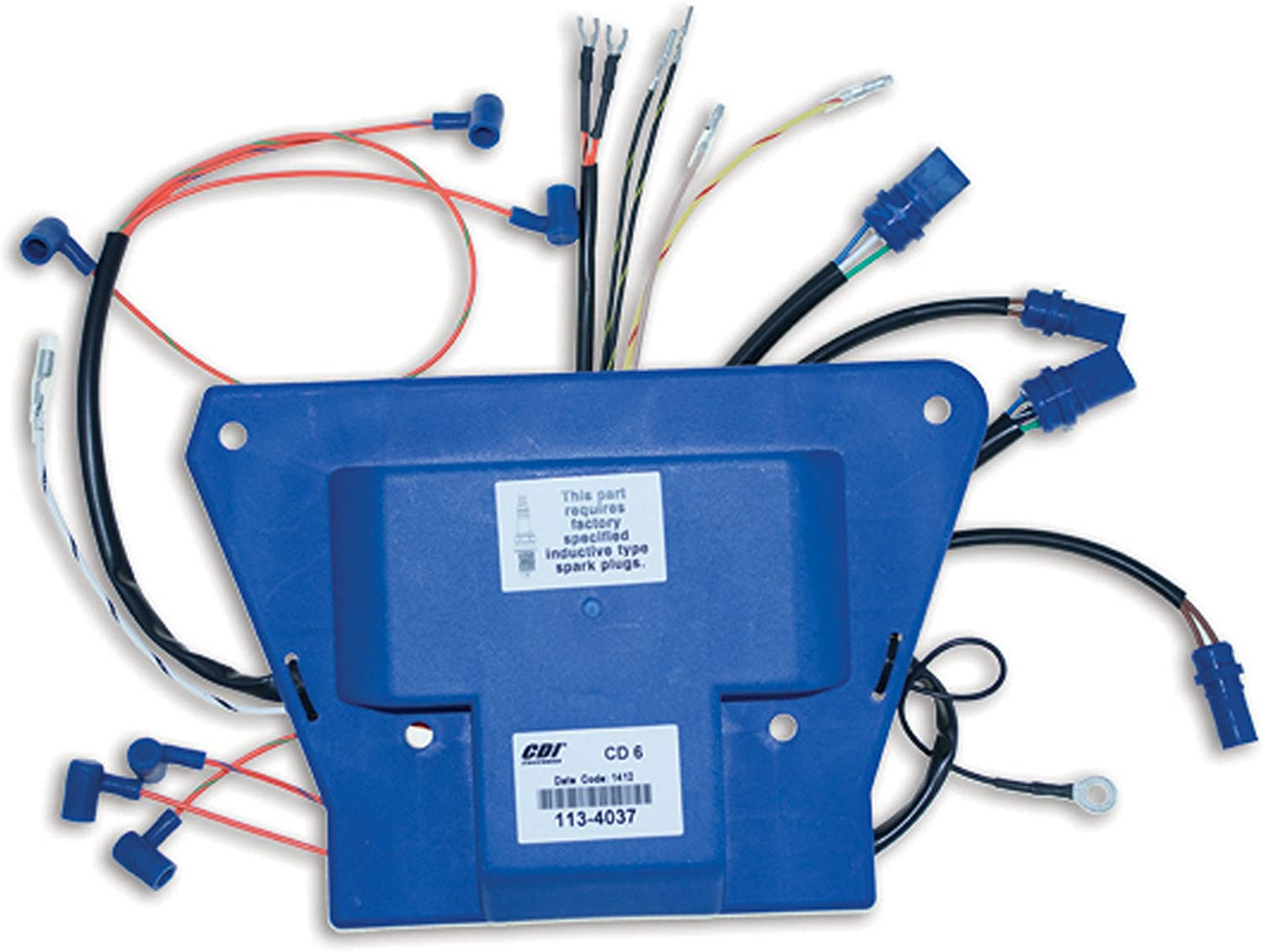 CDI Electronics 113-4037 Johnson/Evinrude Power Pack - 6 Cyl (1988-1992)