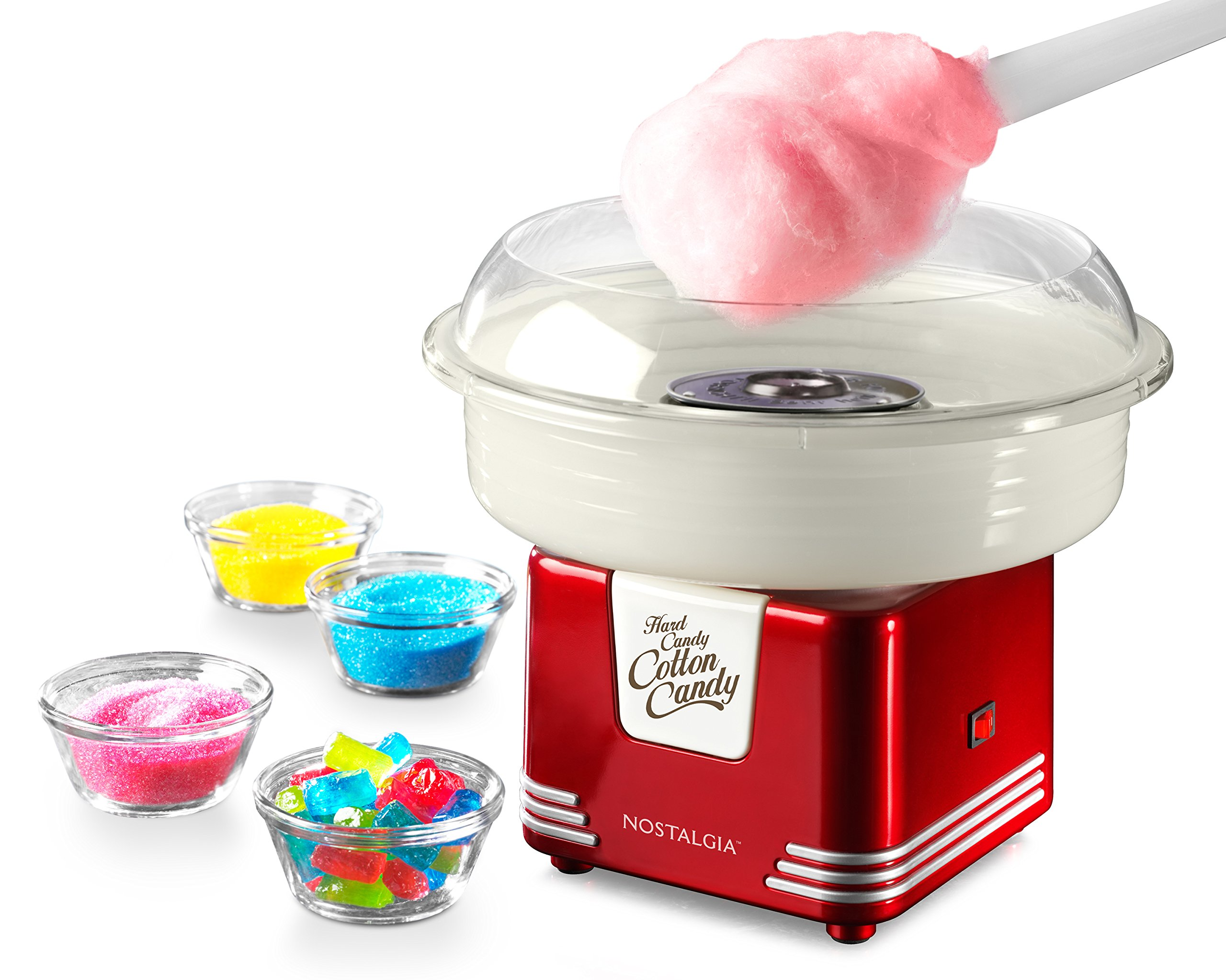 Nostalgia Retro Series Hard & Sugar-Free Candy Cotton Candy Maker by Nostalgia Electrics (Image #1)