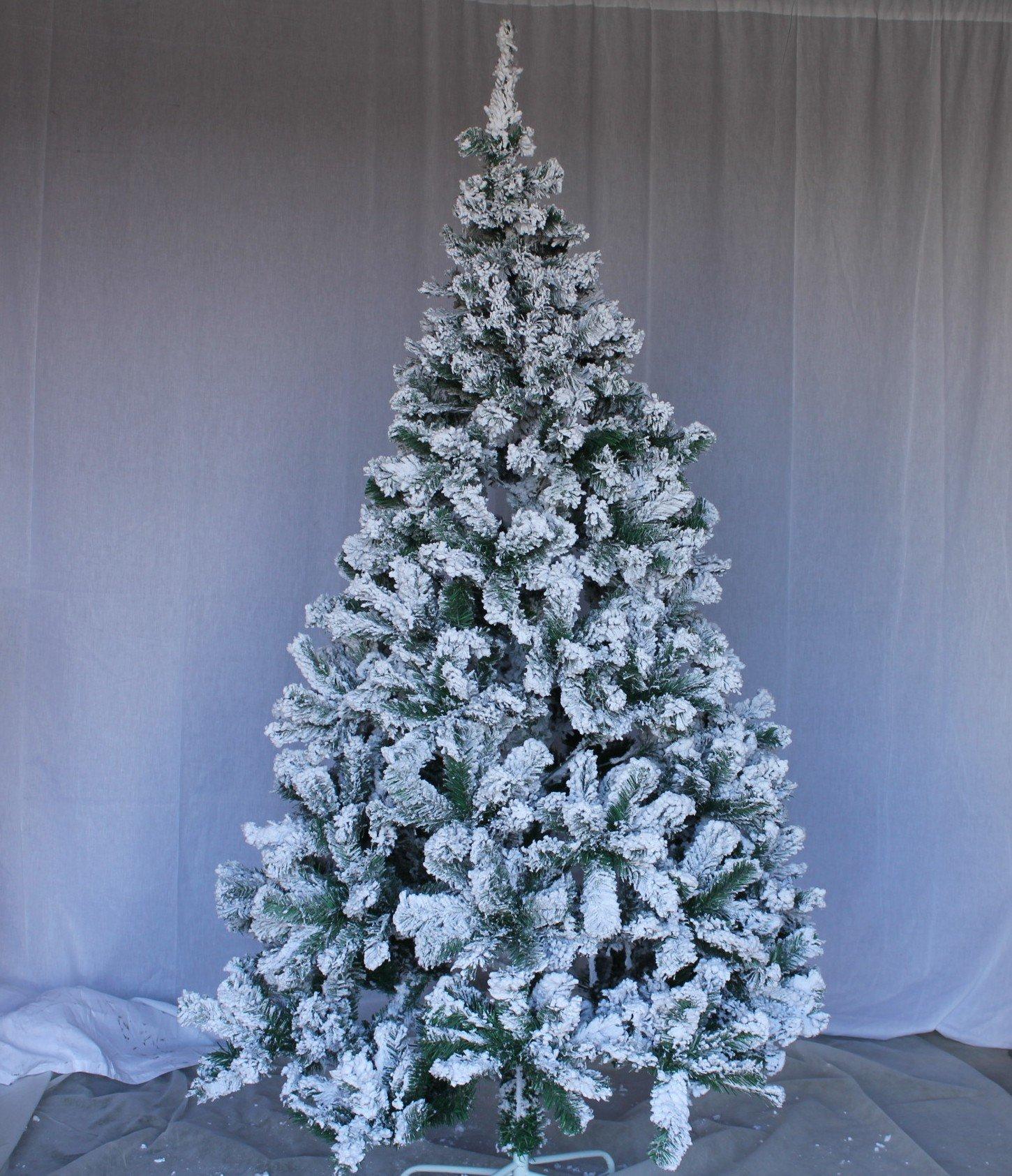 Perfect Holiday Christmas Tree, 5-Feet, Flocked Snow