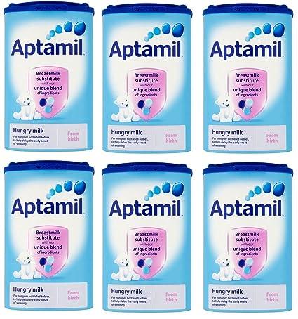 Fórmula Aptamil Stage 1. 6 cajas de 900 gramos de Irlanda ...