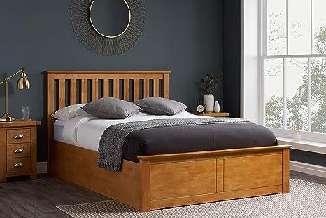 Swell Birlea Phoenix 5Ft Kingsize Ottoman Bed Oak Uk King Forskolin Free Trial Chair Design Images Forskolin Free Trialorg