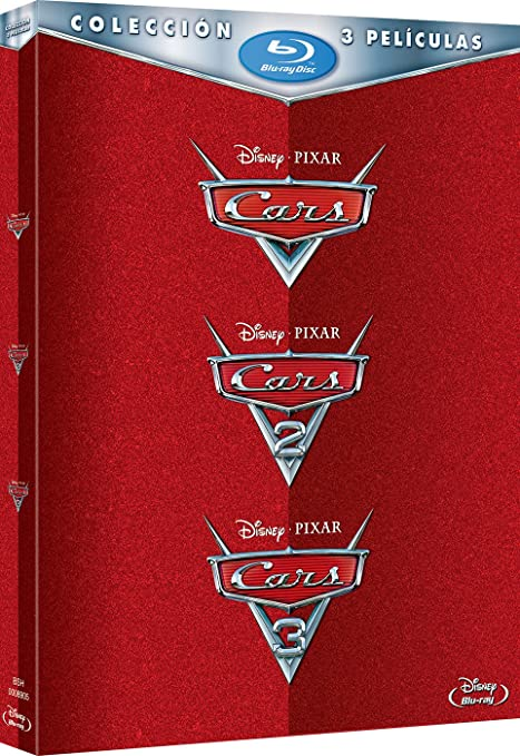Pack: Cars 1 + Cars 2 + Cars 3 [Blu-ray]: Amazon.es: Personajes ...