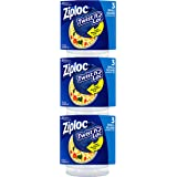 Ziploc Twist 'n Loc, Storage Containers for Food, Travel and Organization, Dishwasher Safe, Small Round, 3 Count, Pack…