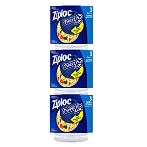 Ziploc Twist 'n Loc 16 oz Container 3 Pack, 3 Count