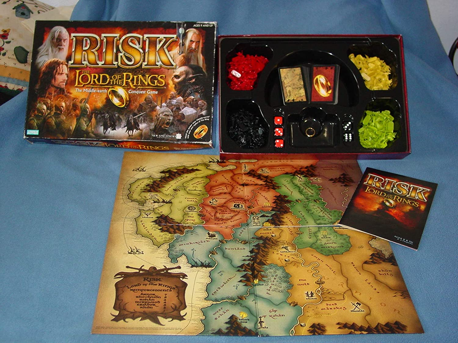 Risk: The Lord of The Rings The Middle Earth Conquest Game by ...