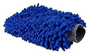Ultimate Car Wash Mitt - Extra Large Size - Premium Chenille Microfiber Wash Mitt - Wash Glove - Lint Free - Scratch Free