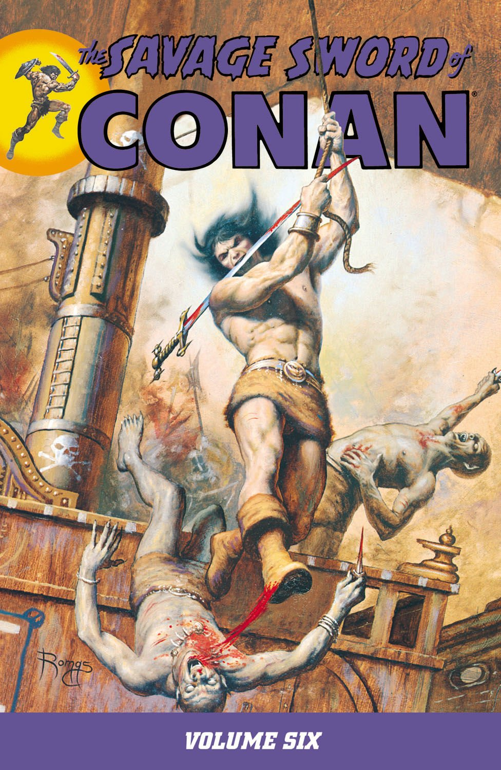The Savage Sword Of Conan Volume 6 PDF