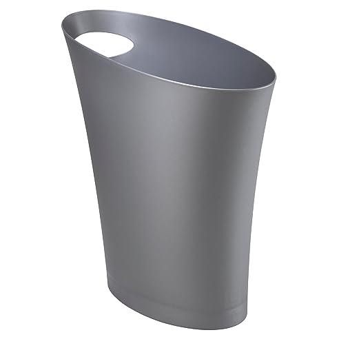 Umbra Skinny Abfalleimer U2013 Kleiner U0026 Stylischer Badezimmer Mülleimer,  Schlanker Papierkorb Für Kleine Räume In