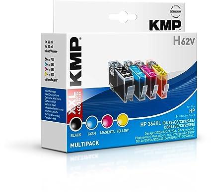 KMP H62V Negro, Cian, Magenta, Amarillo cartucho de tinta ...