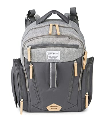Amazon.com: Eddie Bauer Crescent - Bolso para pañales, color ...