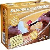 Schnitzen / Bildhauen nach Farben - Schnitzanleitung für Kinder und Erwachsene --- Modell Herz