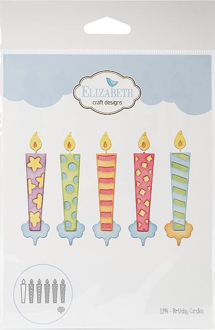 Amazon.com: Vela de cumpleaños: Arte, Manualidades y Costura