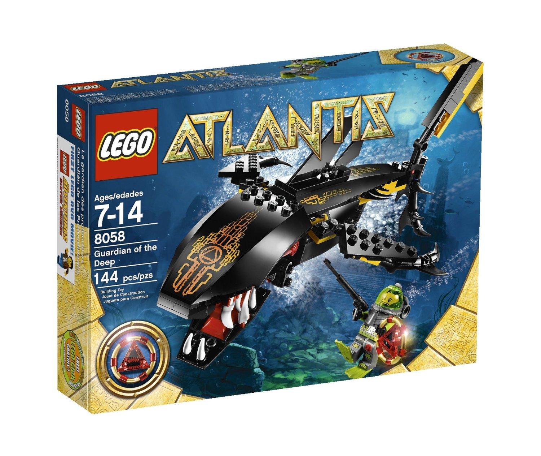 LEGO Atlantis Guardian of the Deep (8058) [並行輸入品]   B01JVX6H1M