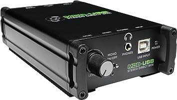 Di caja de inyección Mackie MDB-USB: Amazon.es: Electrónica