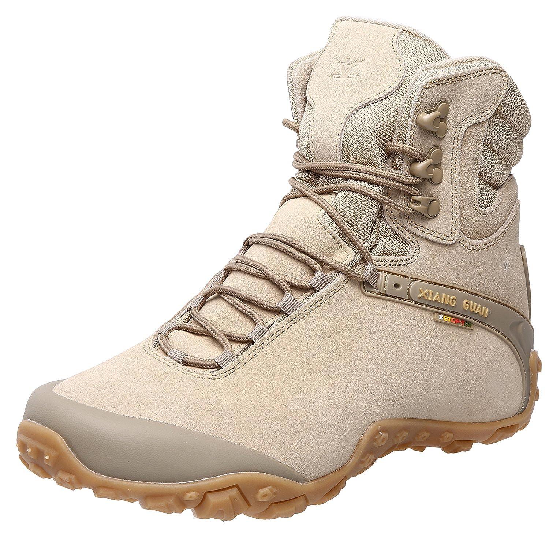 03023814147 XIANG GUAN Women's Outdoor High-Top Waterproof Trekking Hiking Boots