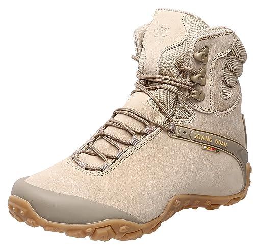 234d445a58ea5 XIANG GUAN Women's Outdoor High-Top Waterproof Trekking Hiking Boots