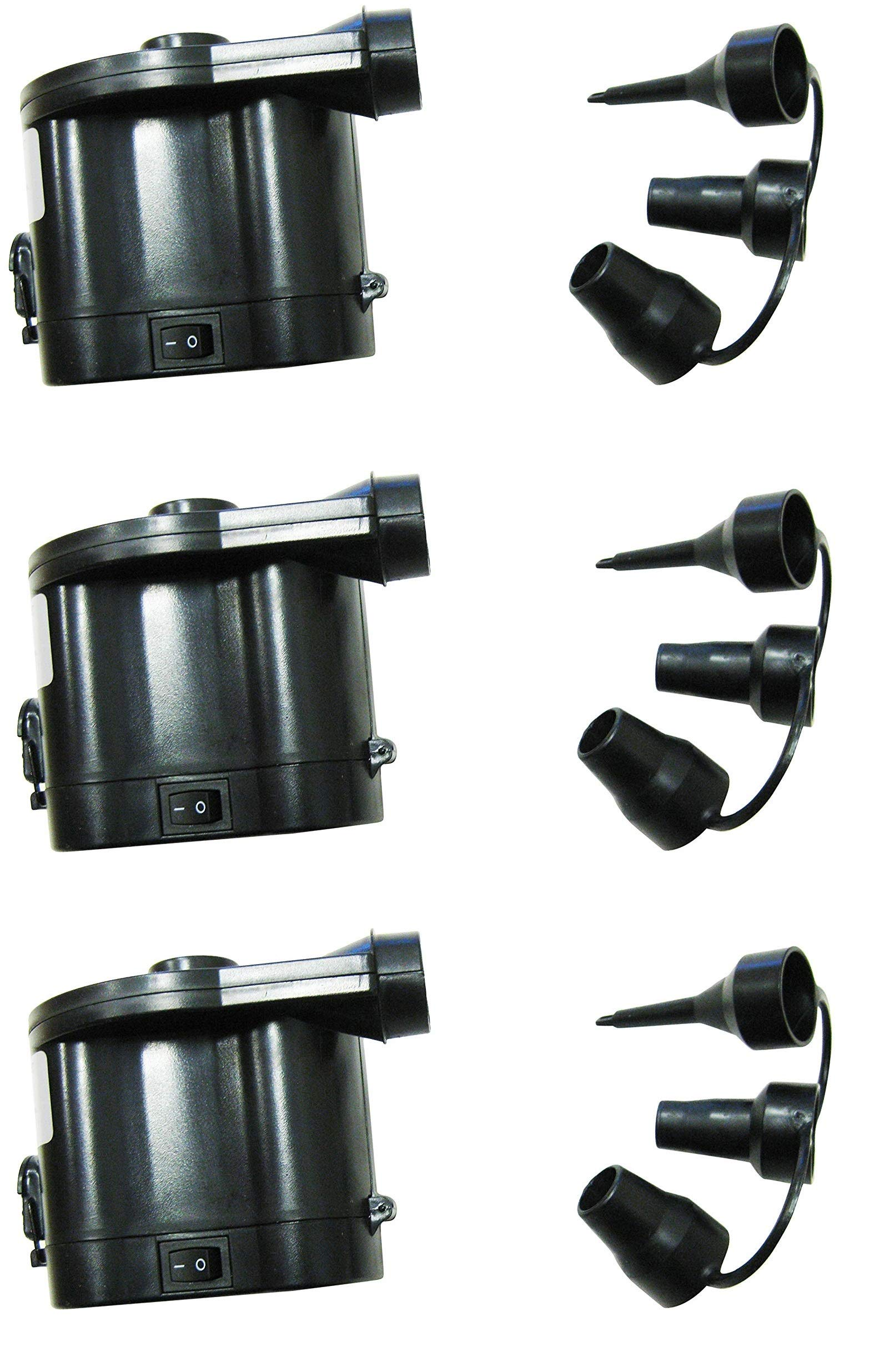 Zaltana DC air Pump opreated by 4''D Cell Batteries (Battery Sold Separately) APD (Thrее Расk)
