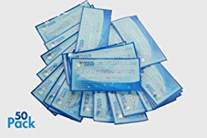 ClinicalGuard® HCG Pregnancy Test Strips (Individually-Sealed, Pack of 50)