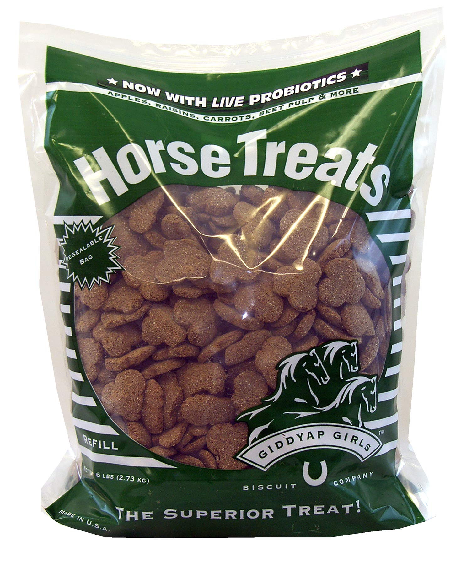 Giddyap Girls Premium Horse Treats, 6-Pound by Giddyap Girls