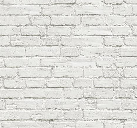 Nextwall Vintage Whitewashed Brick Peel And Stick Wallpaper