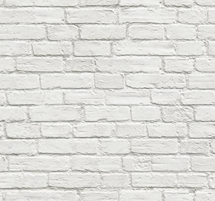 nextwall vintage white brick peel and stick