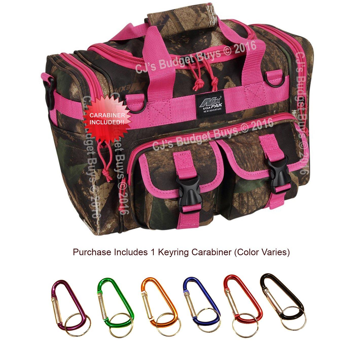 Nexpak USA TF115 15 Inch Duffel Duffle Molle Tactical Range Shoulder Bag 1600 Cu in Bonus Item