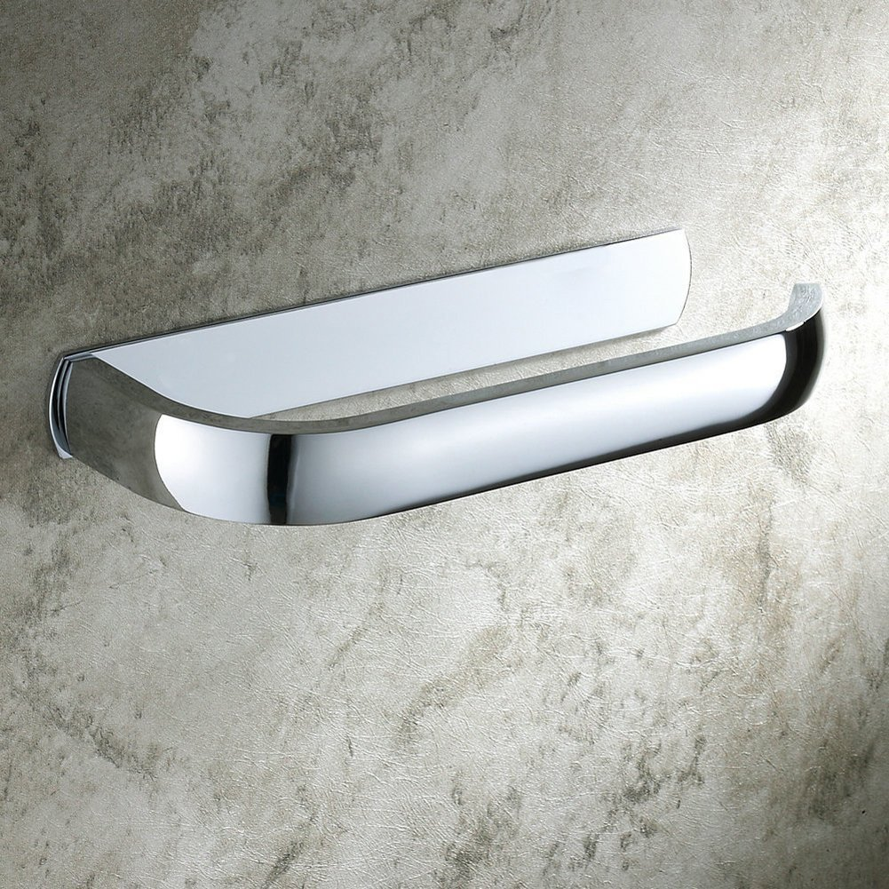 180x27x75mm Aothpher Wand-Toilettenpapierrollenhalter Badezimmer-Gewebe-Rack Messing Verchromte Chrom Toilettenpapierhalter
